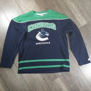 Vancouver Canucks Licensed Youth Hockey Jersey